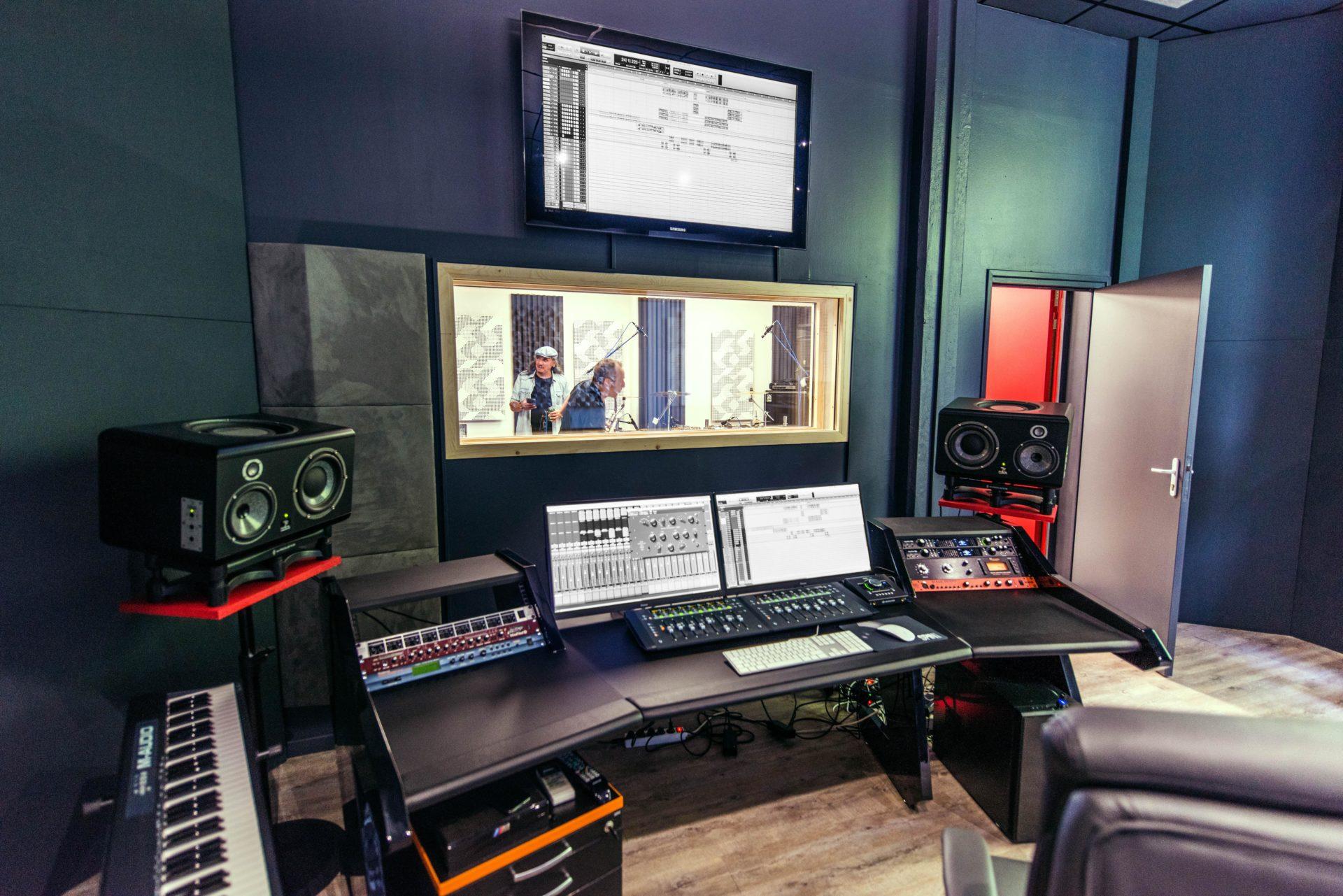 découvrez notre studio d'enregistrement à lyon