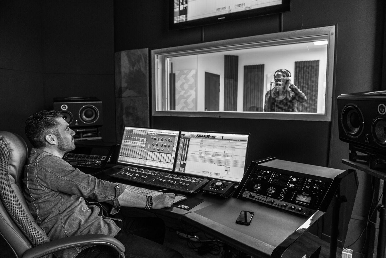 Enregistrement vocal au studio